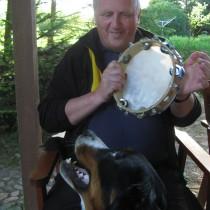 Tomek - miłośnik berneńskich psów pasterskich