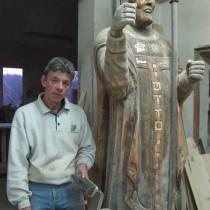 Władek - rzeźba, stolarka